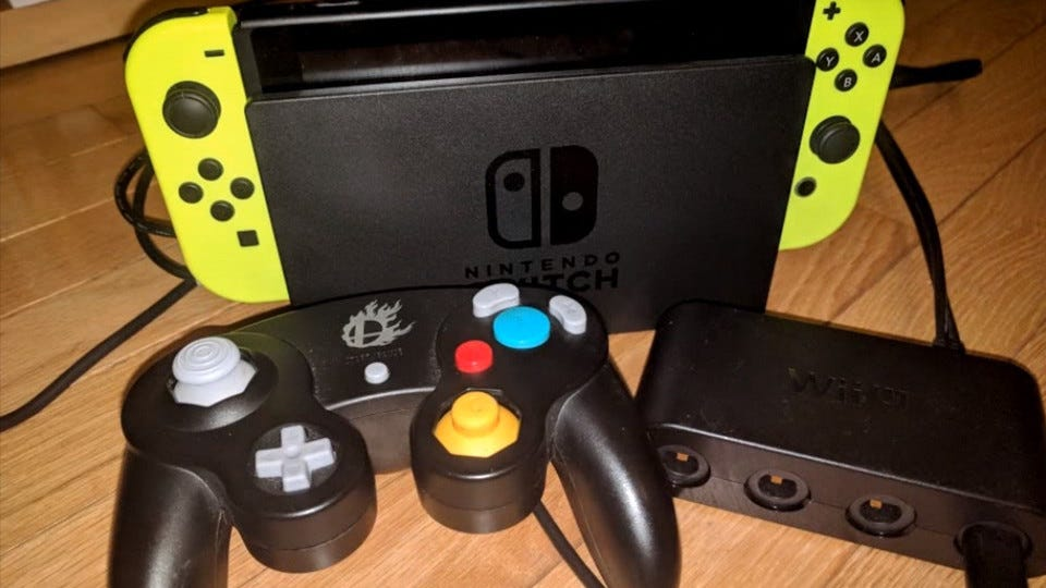 The Nintendo Switch Appears To Now Support Gamecube