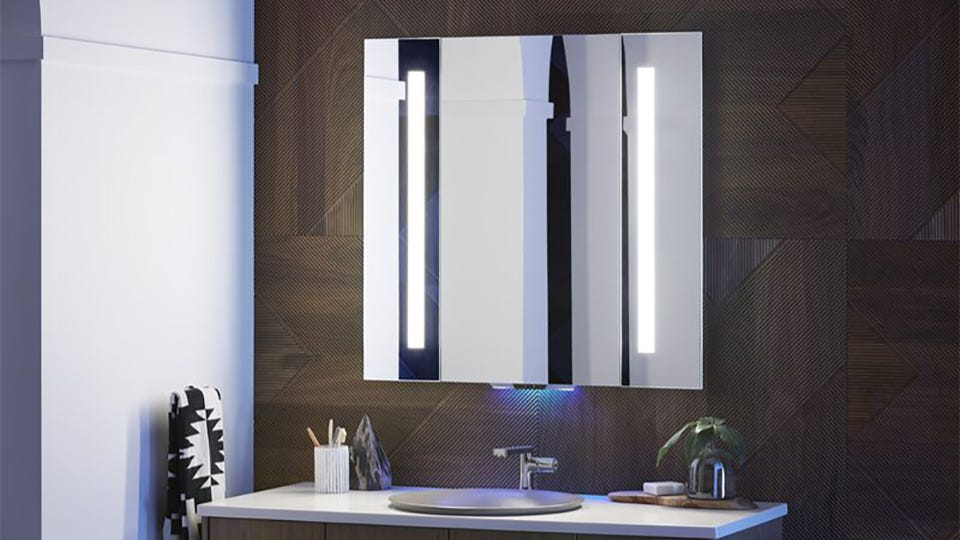 Kohler's Smart Mirror Lets You Ask Alexa to Flush Your Toilet, If You Want That