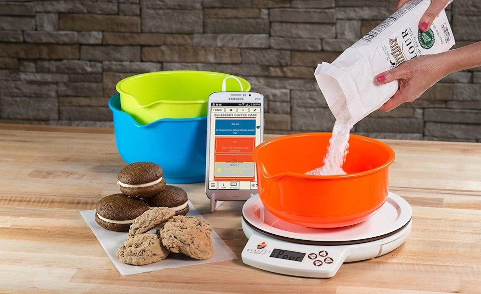 7 gadgets under 50 that ll improve your kitchen for Perfect bake scale system