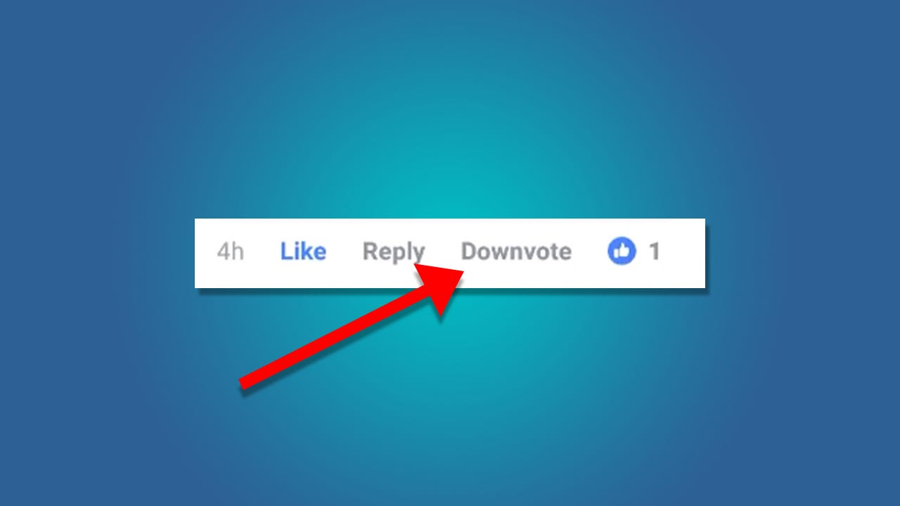 Facebook Is Testing a Downvote Button, But Please Don't Call It Dislike