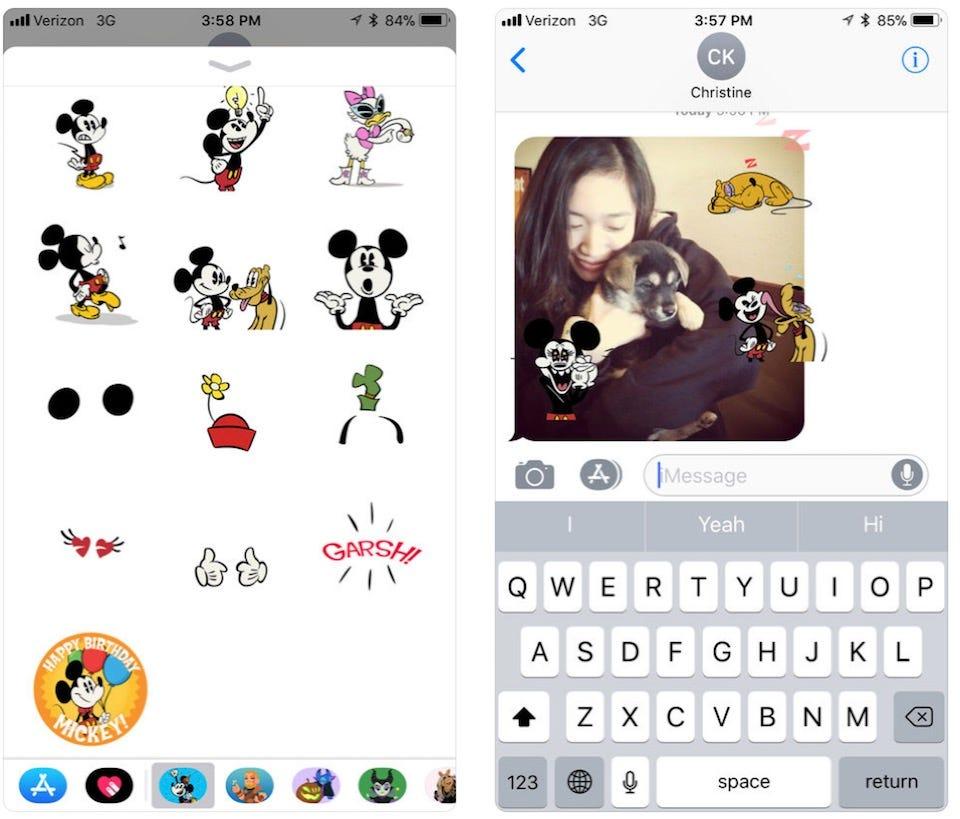 8 einzigartige Sticker Packs zur Anpassung Ihrer iMessage