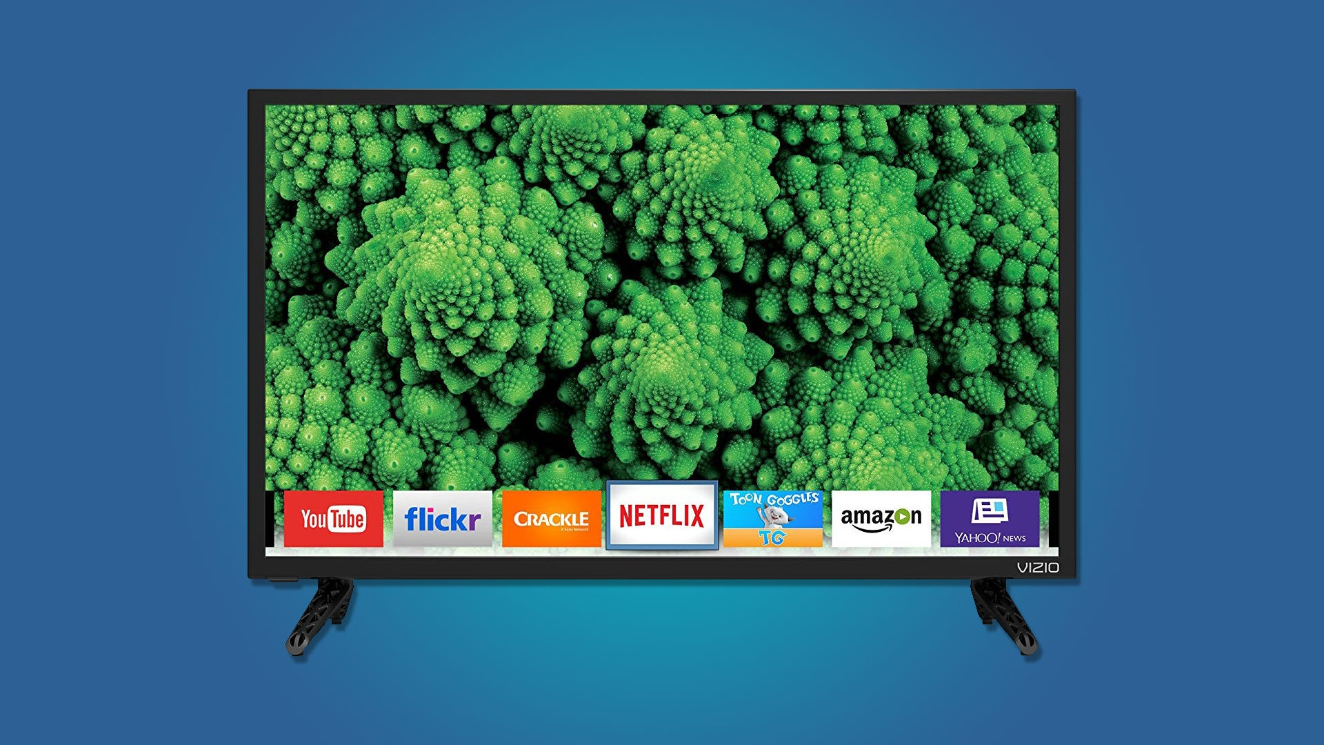You Donu0027t Have As Much Space On Your Kitchen Counter To Put Together A  Whole Entertainment System, So Even Though We Donu0027t Usually Like Smart TVs,  ...