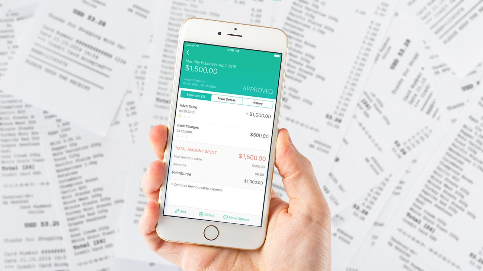 6 great apps for tracking your receipts and expenses on the go