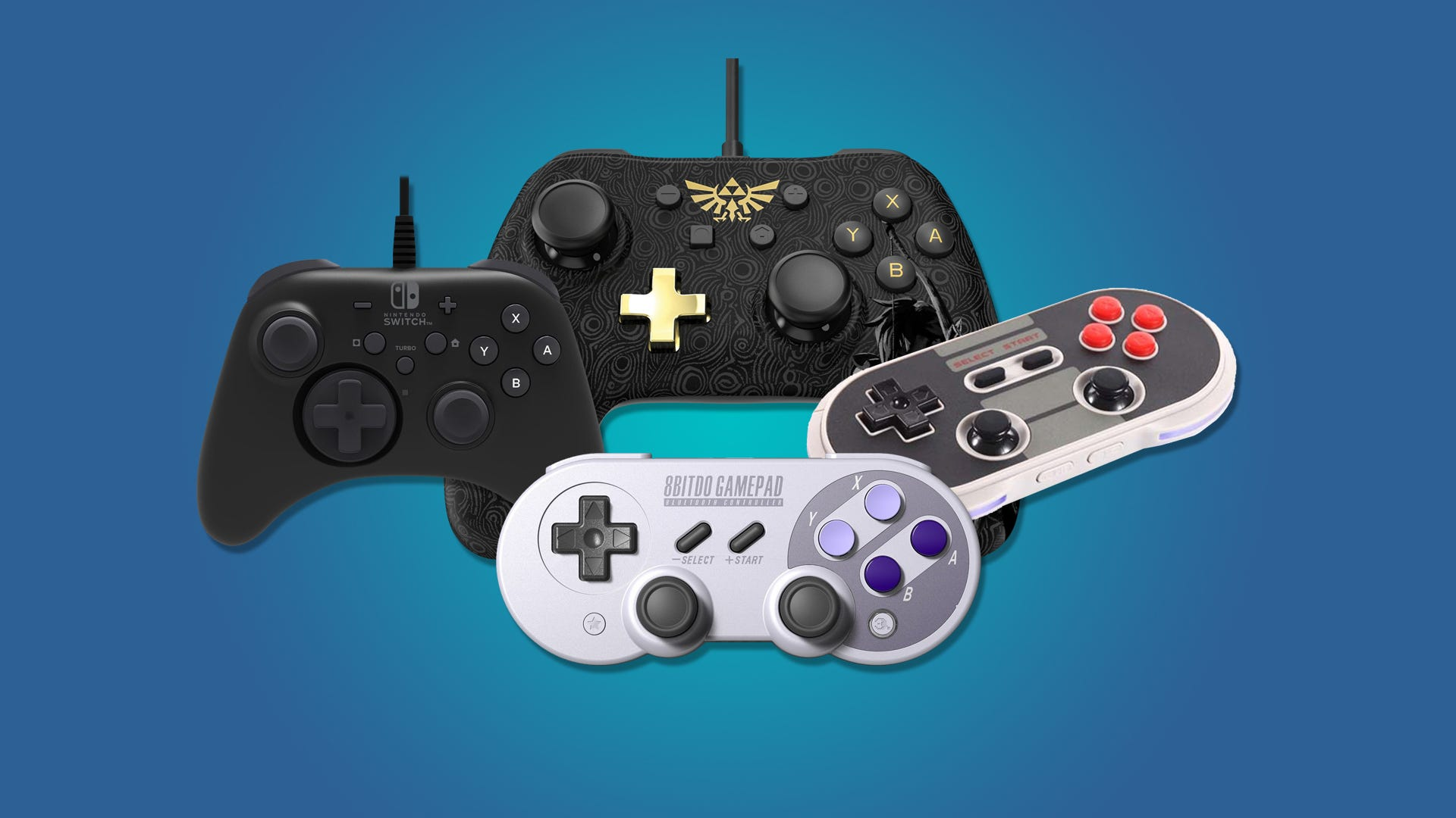 The Best Cheaper Alternatives To Nintendo Switch Pro Controller 8 Way Joystick