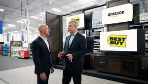 Amazon Will Sell TVs Inside Best Buy, As Long As You Don't Mind Fire TV