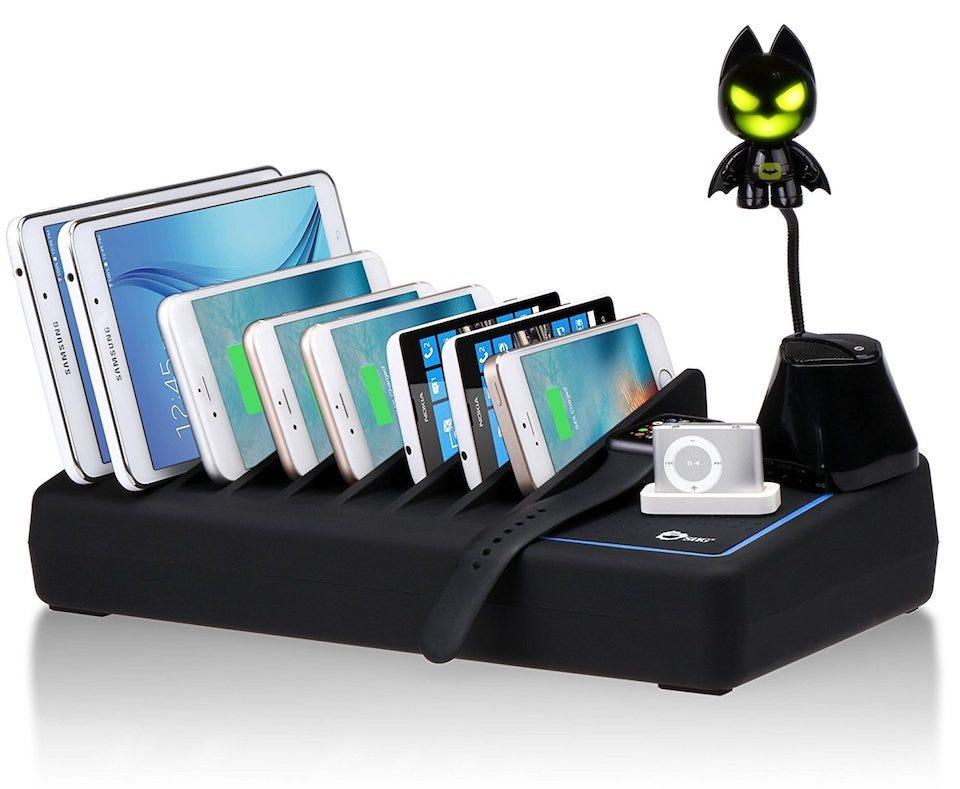 Die besten USB-Ladestationen für Familien