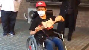 A Japanese Researcher Already Made a Nintendo Labo-Controlled Wheelchair