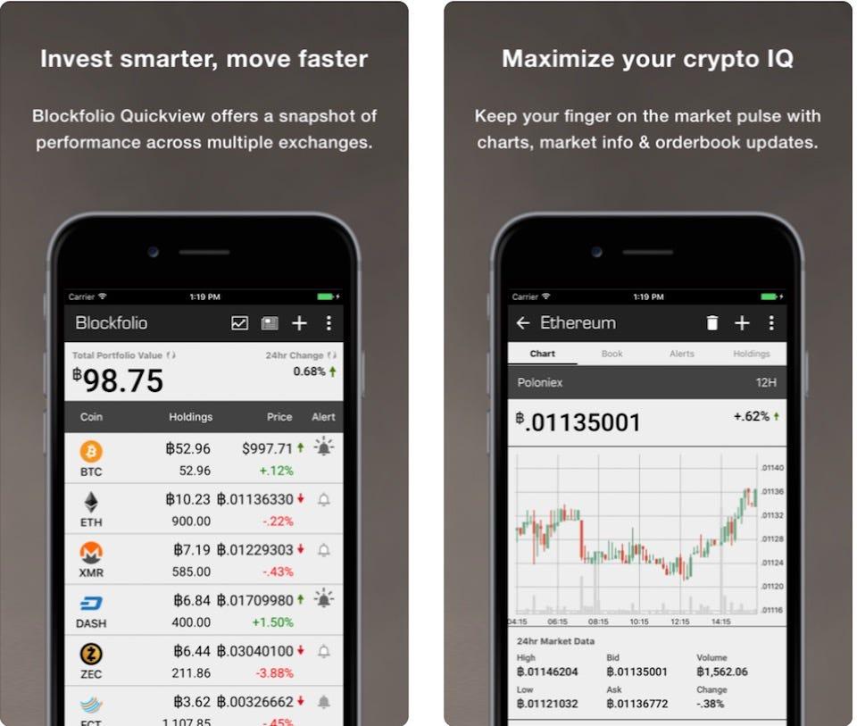 bitcoin checker ios