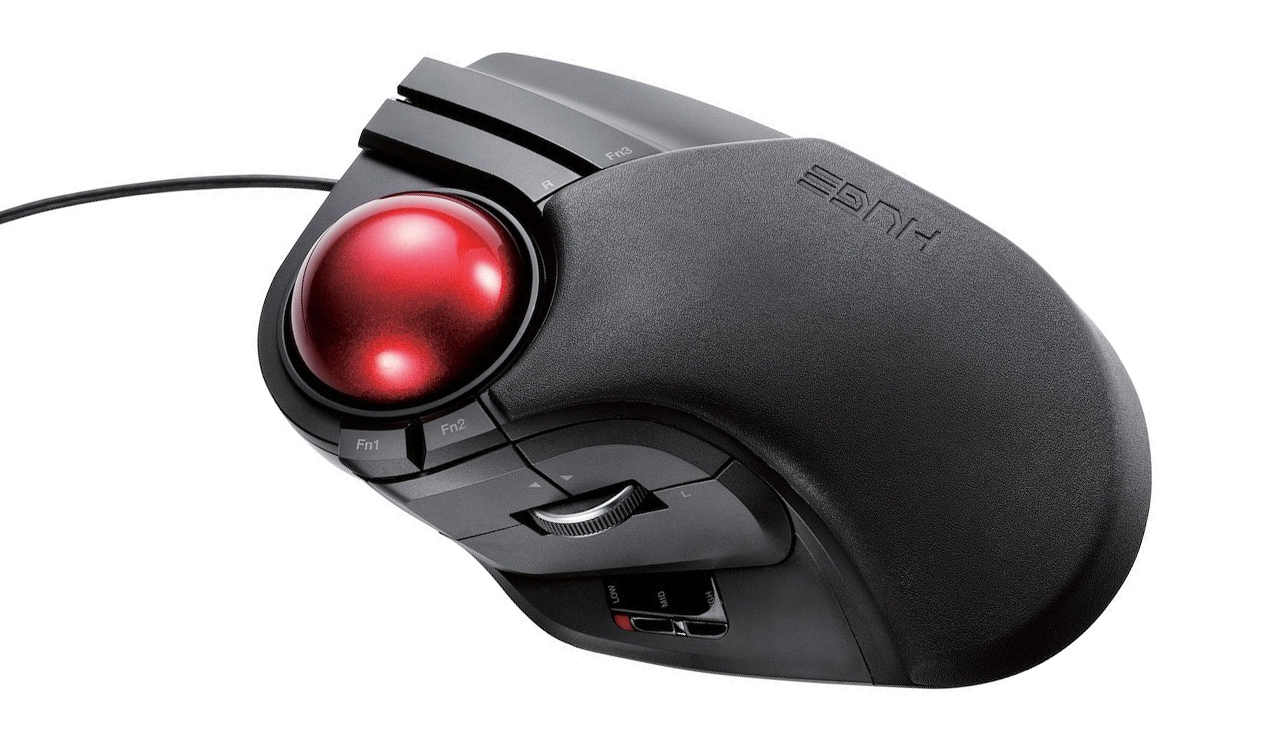 Trackballs For Gaming Are A Niche Of But If Theres Standout Among Them Its Elecoms Mouthful The M HT1URBK 1500 DPI Optical Sensor Isnt