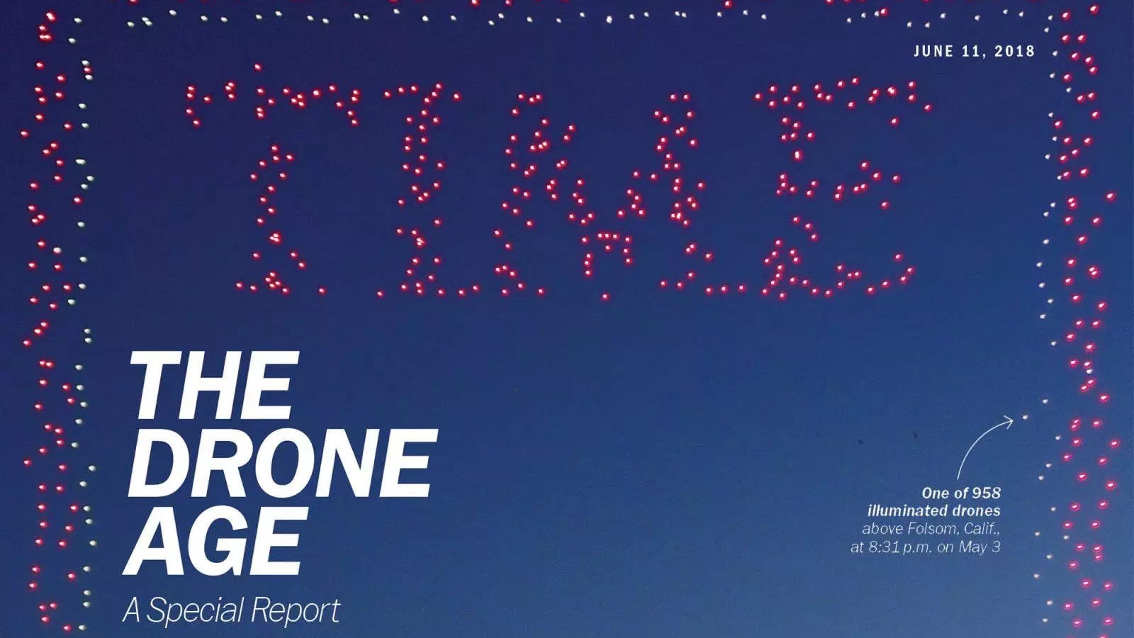 Watch How TIME Created A Cover Out Of 958 Drones