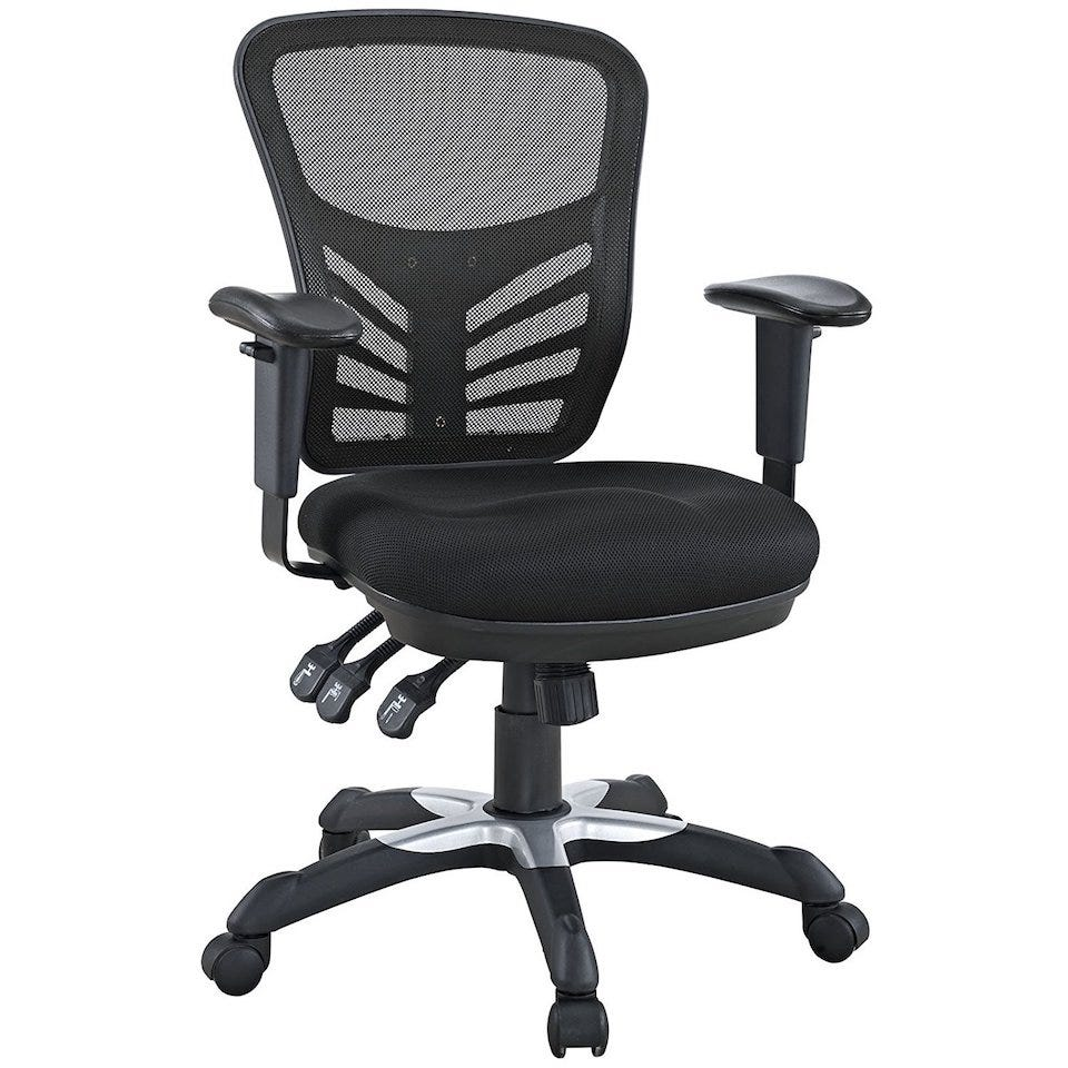 Looking Rather Stylish The Modway Articulate Ergonomic Mesh Office Chair Ticks All Bo For A Good Quality