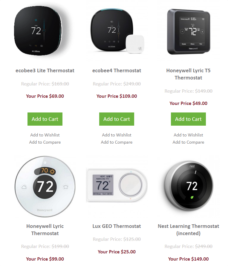 PSA: Ihre Gas-oder Elektro-Firma könnte Ihnen einen Smart Thermostat kostenlos (oder zu einem tiefen Rabatt)