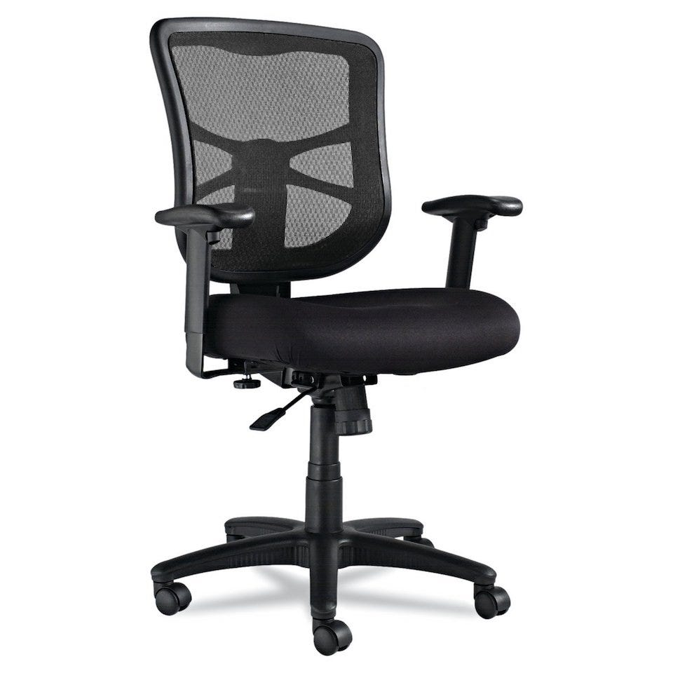 A Little Lower When It Comes To Back Support The Alera Elusion Series Mesh Chair Still Offers That All Important Breathable