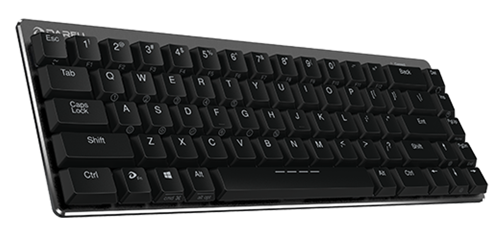 mechanical keyboard, low profile, kailh, dareu, choc