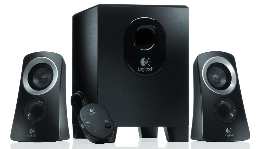 Logitech, pc speakers, 2.1 speakers, z313, logitech z313,