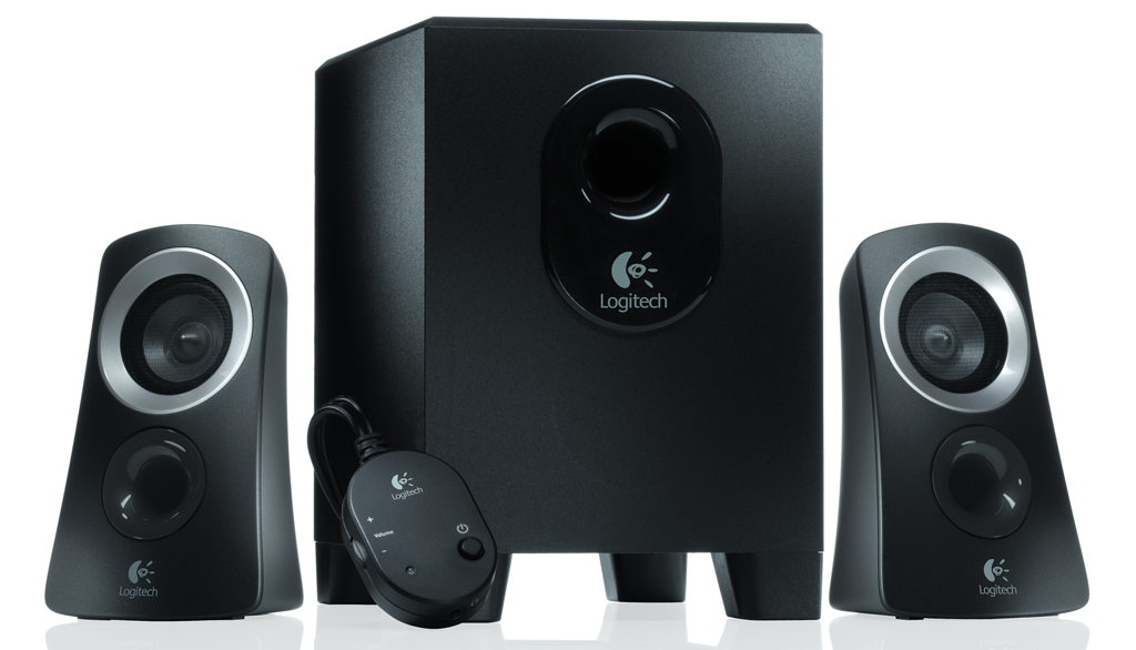 Logitech, pc speakers, 2.1 speakers, z313, logitech z313,