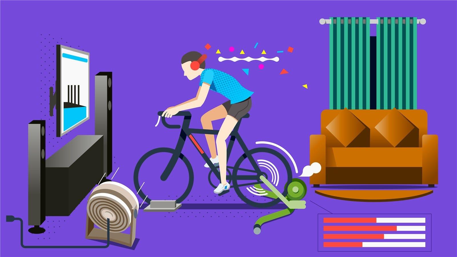 die besten indoor bike trainer f r jedes budget und disziplin. Black Bedroom Furniture Sets. Home Design Ideas