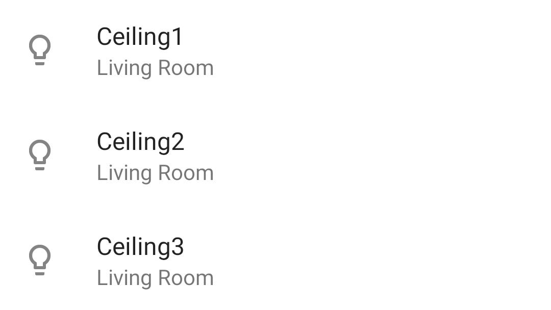 Google Home Multiple Lights In Same Room