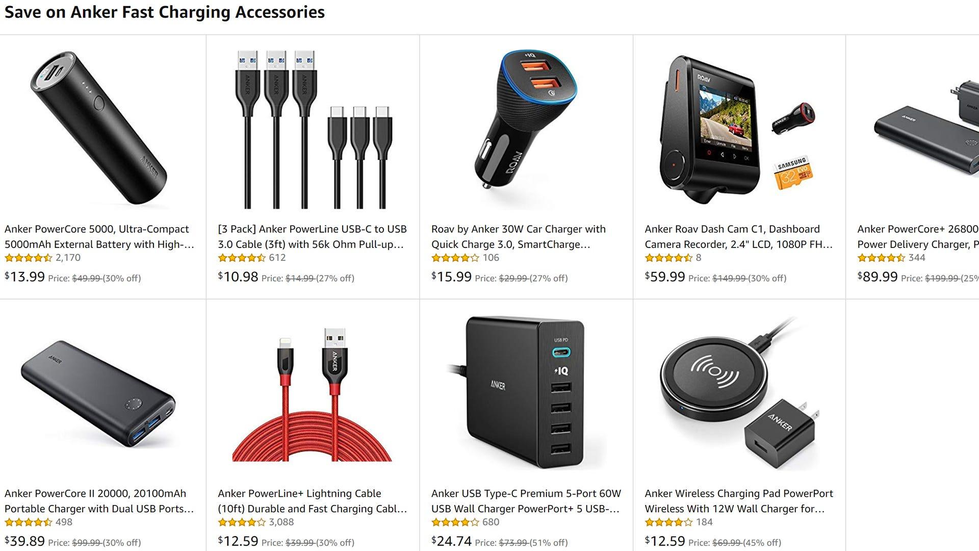 Einige unserer Favoriten Anker Gadgets sind heute nur für Amazon Prime-Mitglieder