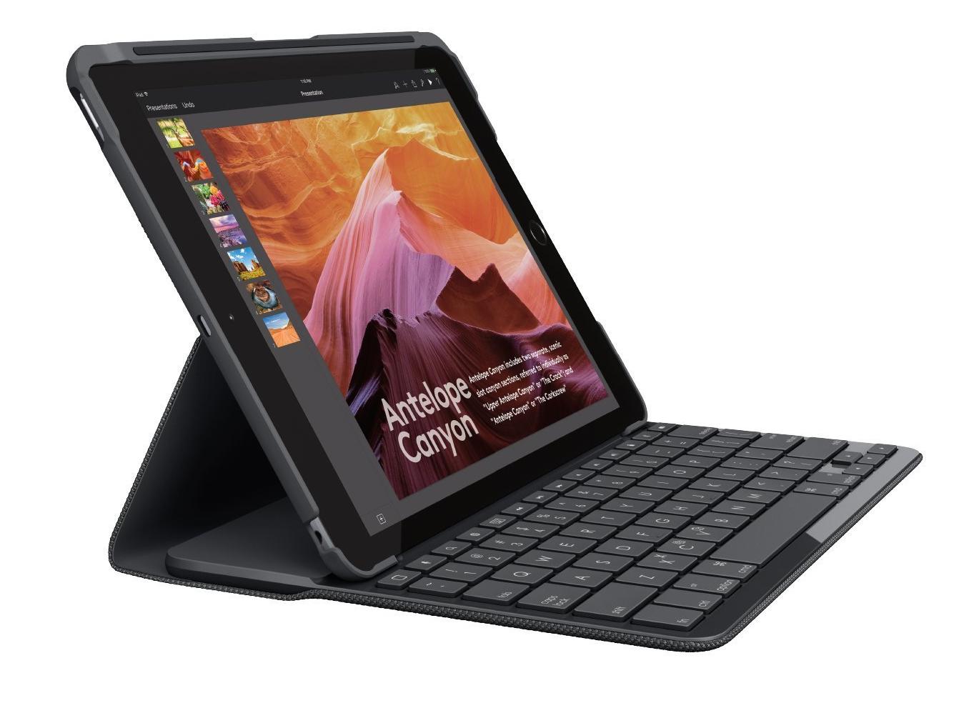 Die Beste Handy Tastatur Für IPads: Logitech Slim Folio Für IPad ($ 80)