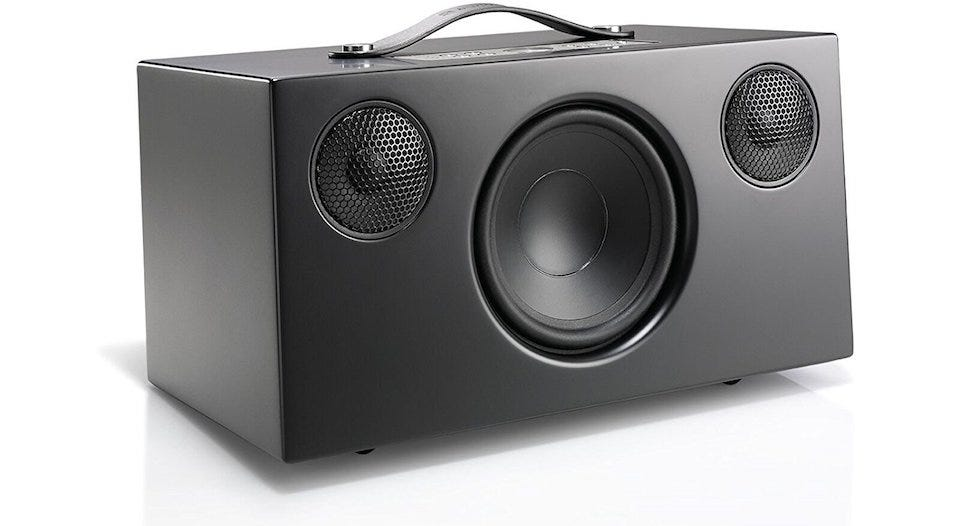 The best large bluetooth speakers for your living room review geek for Best bluetooth speaker for living room