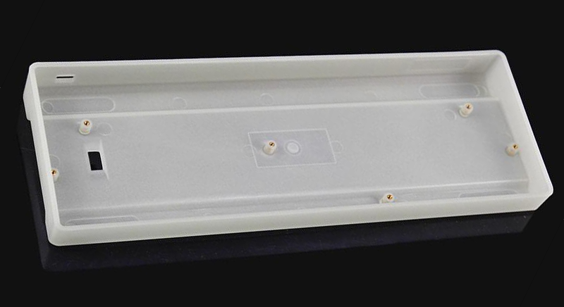 keyboard case, mechanical keyboard, plastic, 60%