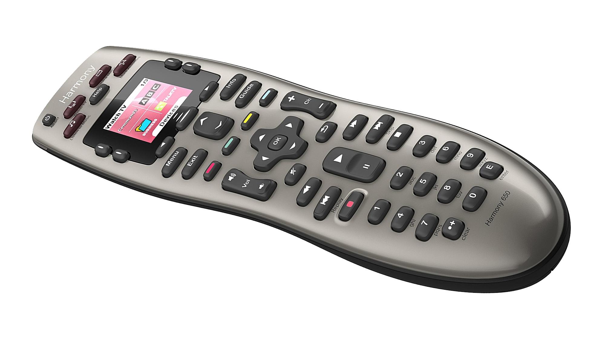 logitech, harmony, universal remote, remote, harmony 650,