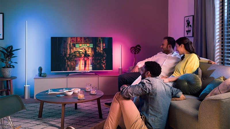 Philips Hue Newest Lamps Are Designed to Paint Your Every Wall In ...