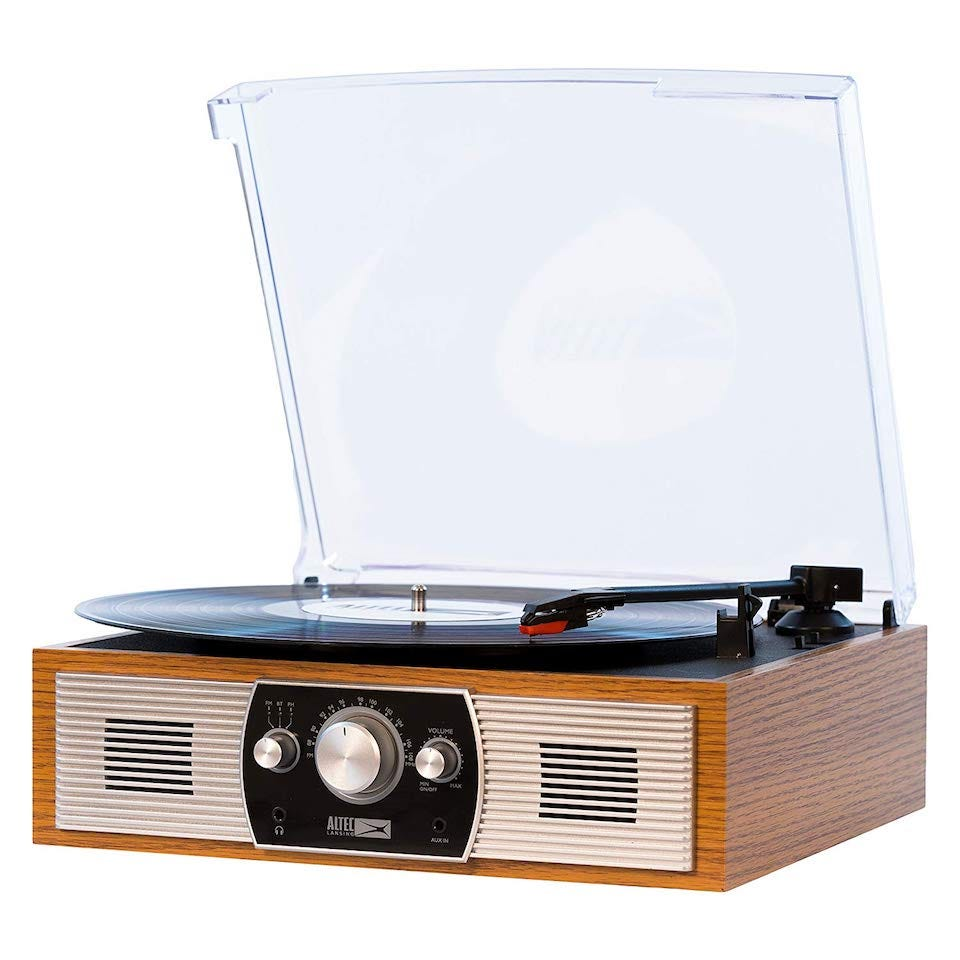 That Immediately Gives The Altec Lansing Belt Driven Stereo Turntable A  Significant Advantage.