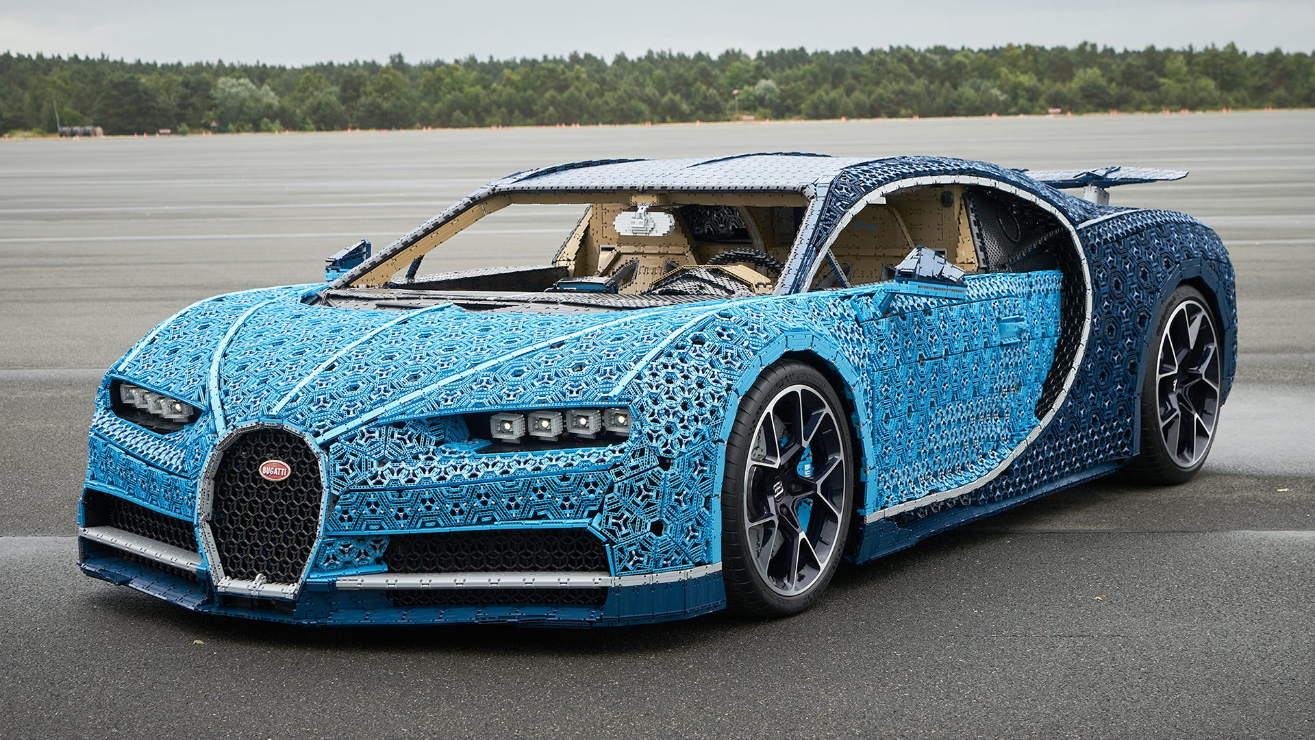 The Million-Piece Lego Bugatti Can Reach a Top Speed of Almost 19 ...