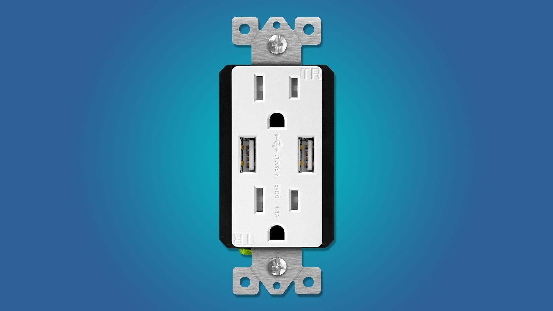 Die besten Wandsteckdosen mit USB-Anschlüssen