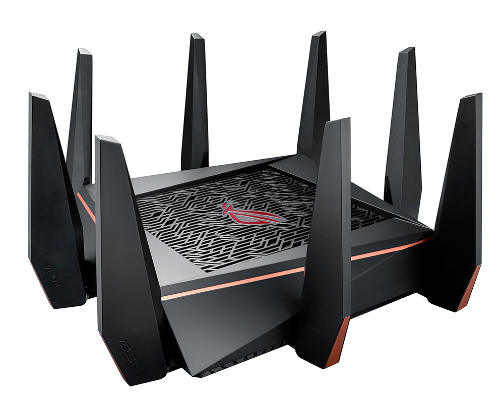 asus, gaming router, wi-fi router, AC5300, rog, rapture,
