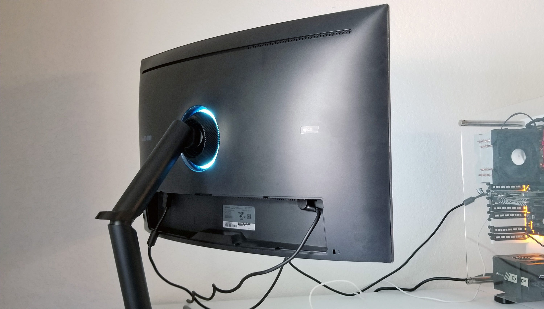 Samsung, CHG70, gaming monitor, review, 144hz,