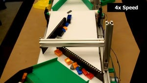 This Homemade Lego Sorter Is Accidentally a Lot Like Chocolate Sorting Machines