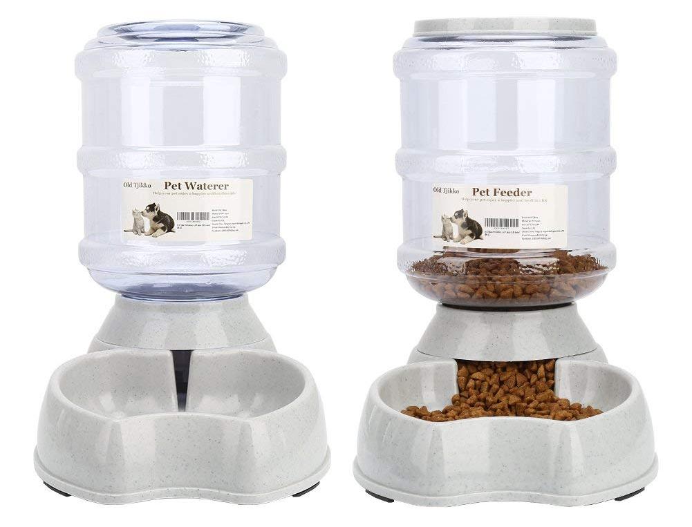 gravity feeder, pet food, dog food, puppy