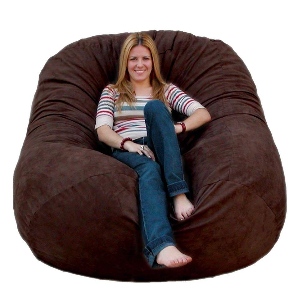 Like A Giant Bear Hug The 6 Feet Chair Is Super Well Cozy It S Filled With Shredded Memory Foam Rather Than Beans