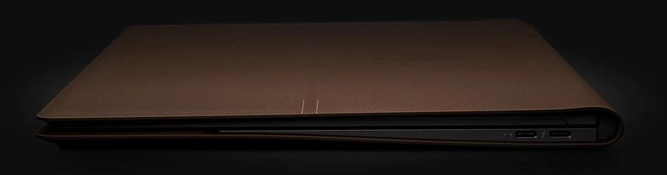 hp, hp spectre, folio, laptop, leather