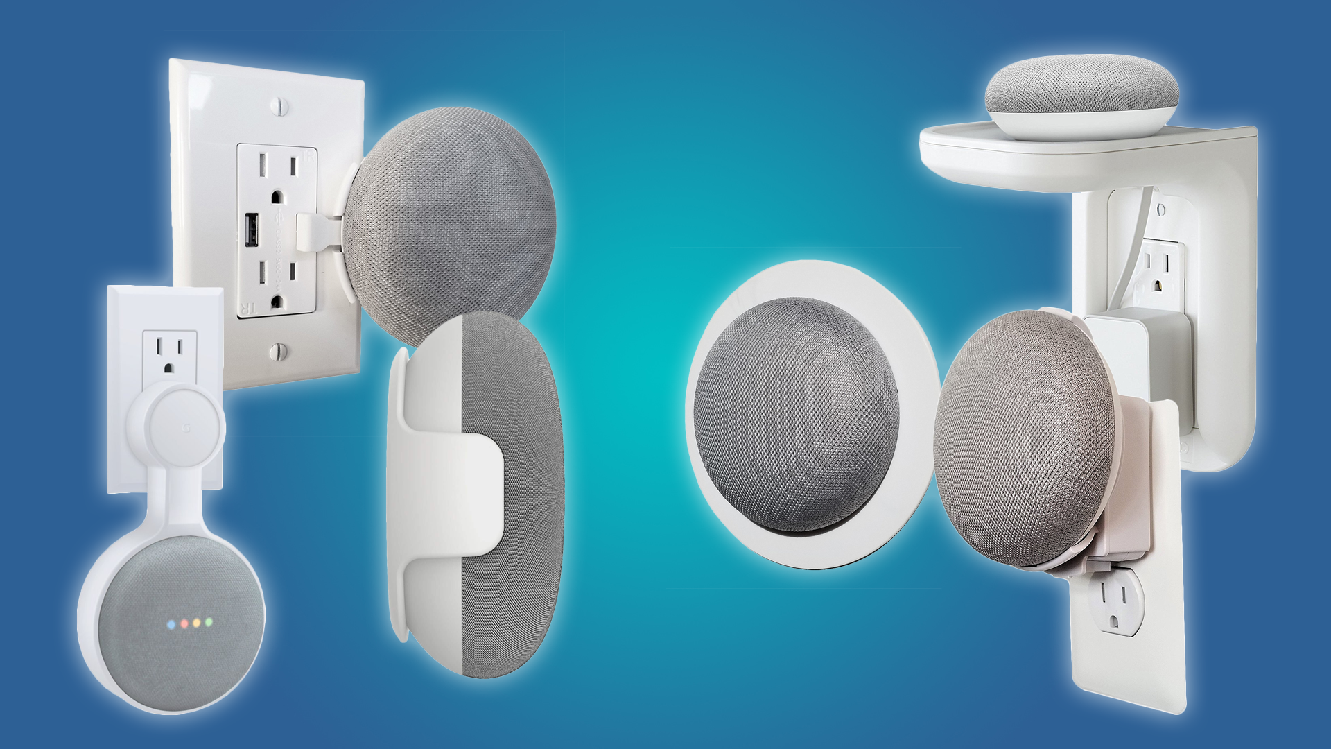 The Best Google Home Mini Mounts for Your Outlets, Walls, and Ceiling