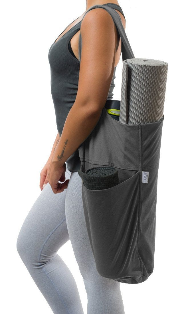 Tote bags are great for tossing your random belongings all into one spot.  With the YogiiiTote 815dbf28b1140