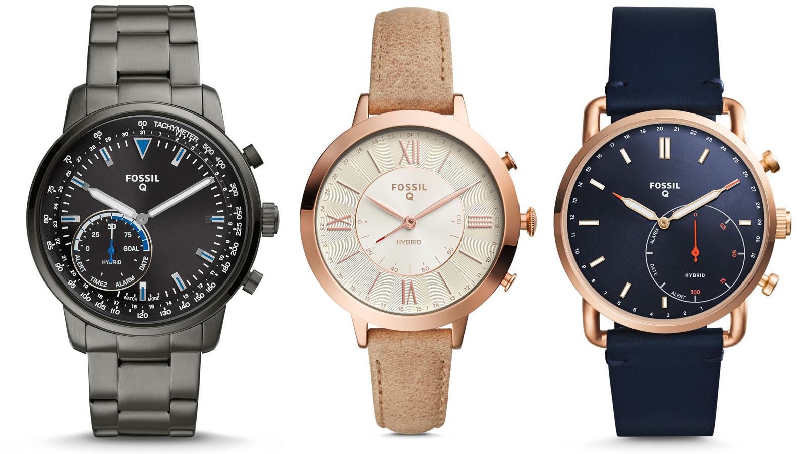 fossil, q, smartwatch, hybrid, fashion,