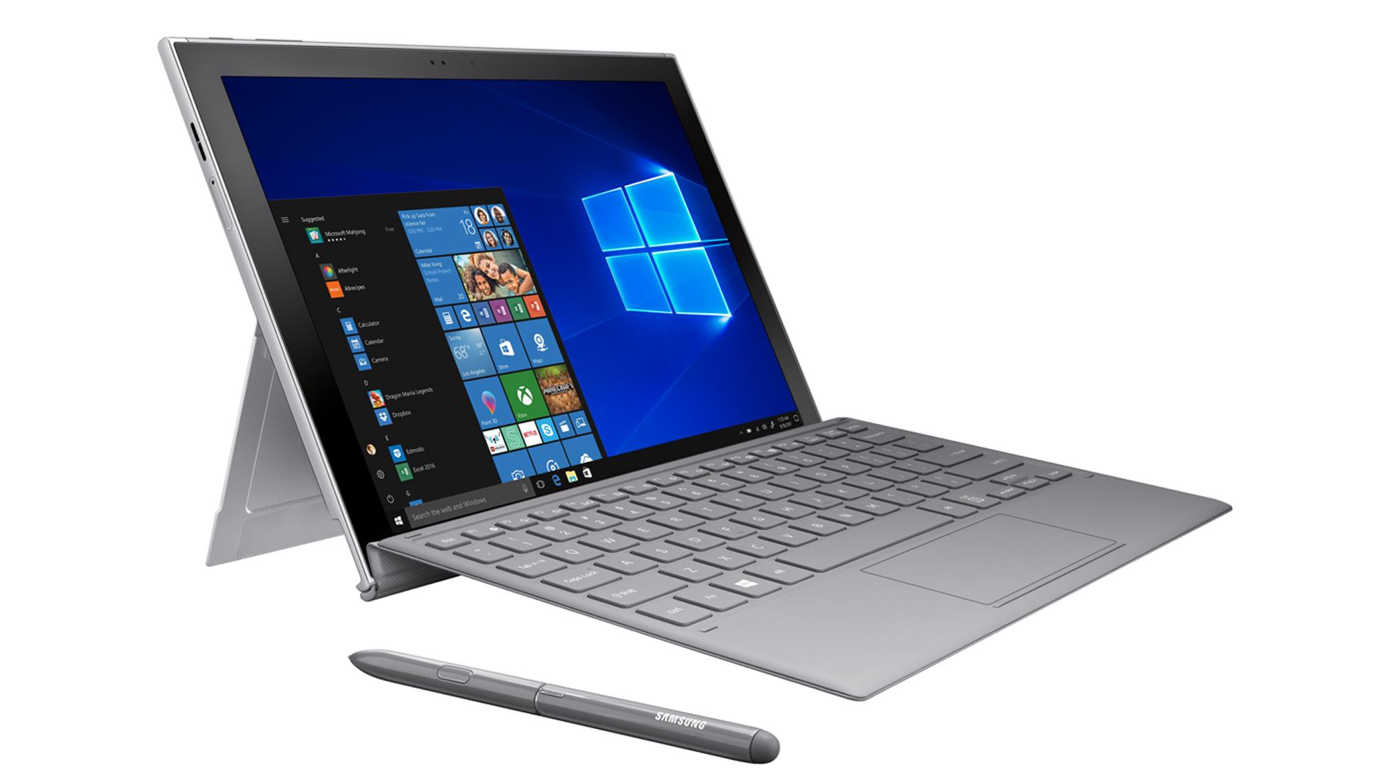 samsung, windows, tablet, surface, kickstand, snapdragon, ARM, galaxy book, galaxy book 2,