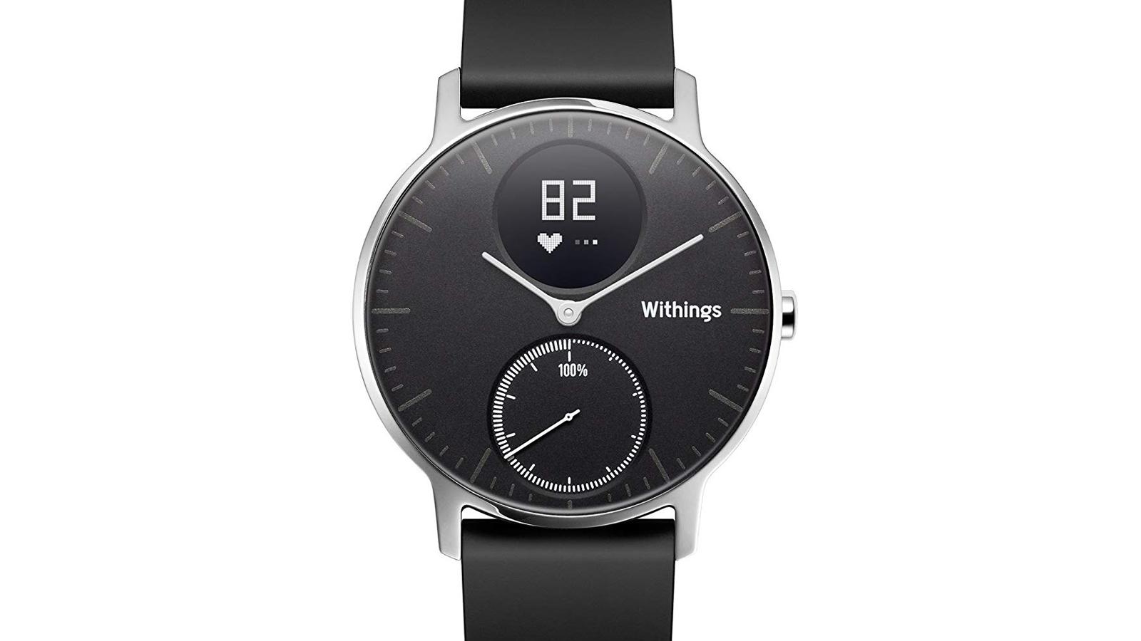 withings, smartwatch, hr, steel, steel hr, hybrid