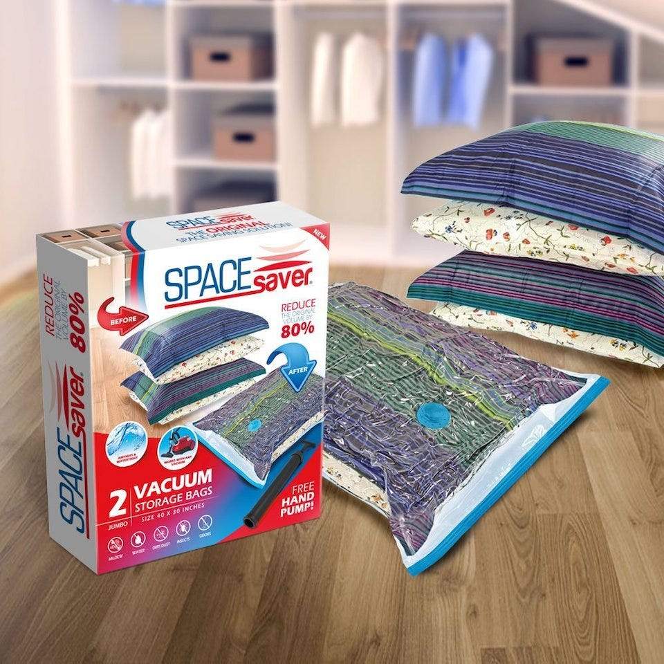 The Best Vacuum Sealing And Space Saver Bags For Home Organization