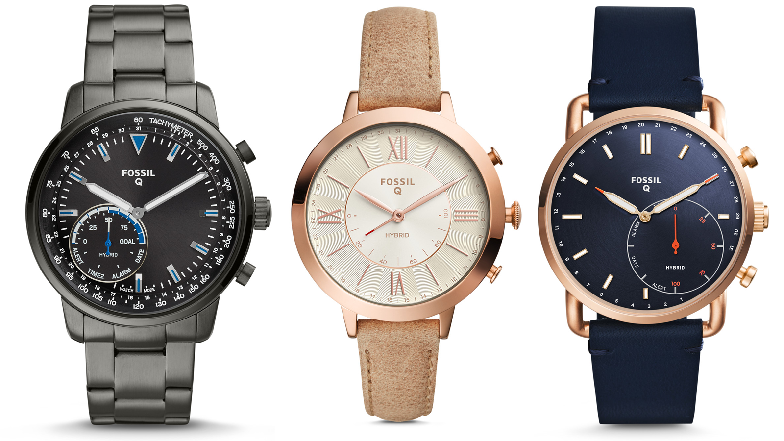 fossil, q, smartwatch, hybrid, fashion,