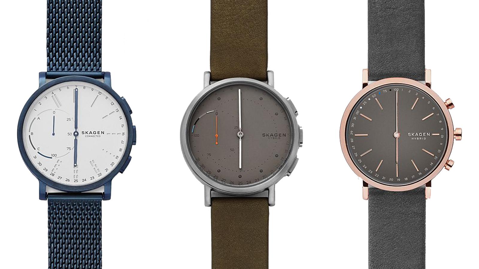 skagen, smartwatch, hybrid, budget