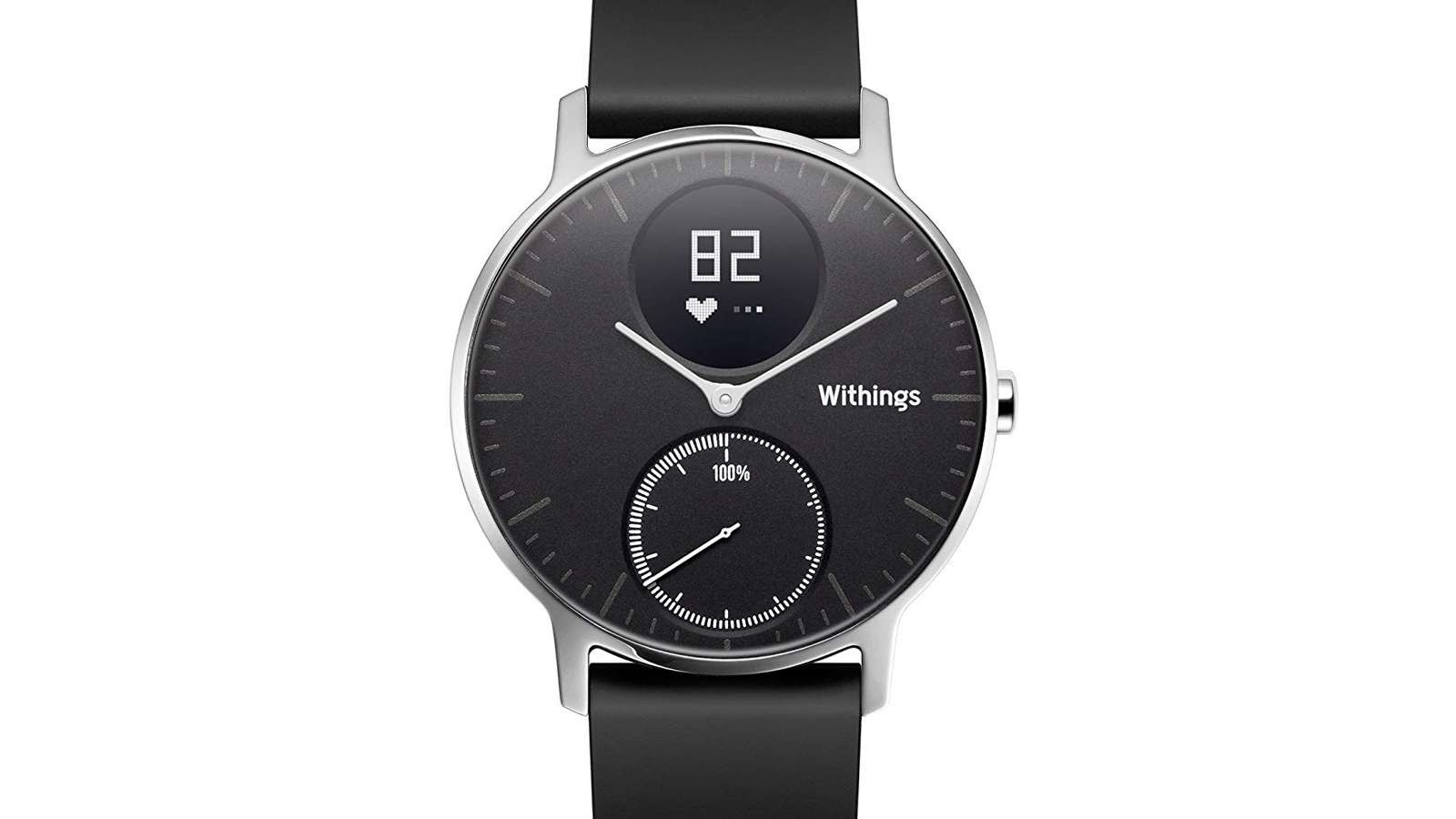 withings, smartwatch, hr, steel, steel hr, hybrid