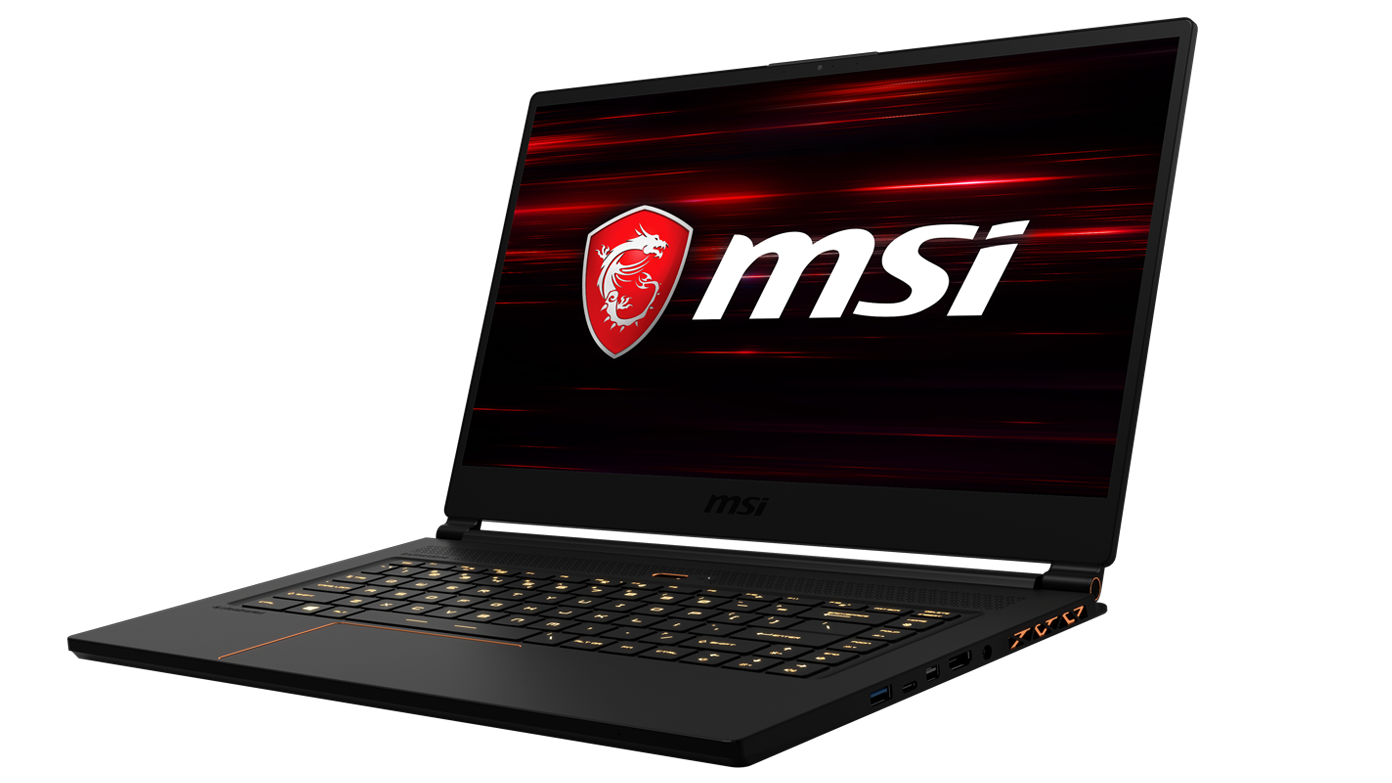 msi, gs65, stealth thin, gaming laptop, gaming notebook