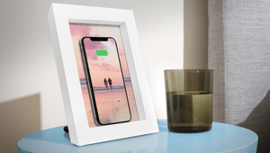 This Picture Frame Hides A Wireless Phone Charger Inside