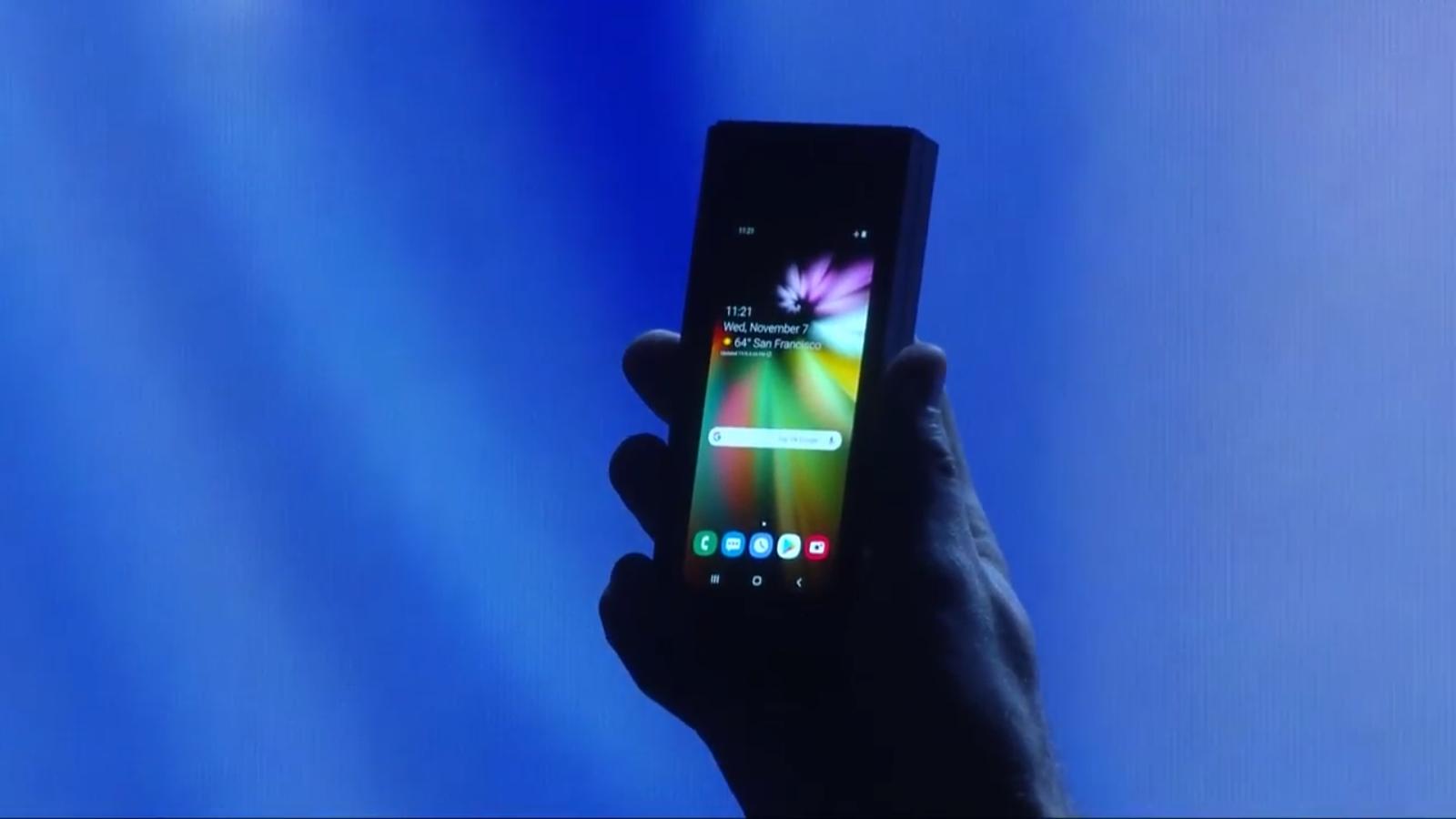 Samsung zeigt sein Klapptelefon: Hier ist alles, was wir wissen
