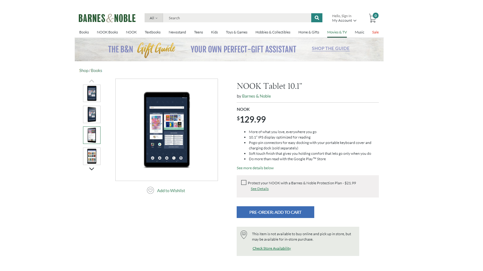 Barnes & Noble Announces 10.1-Inch NOOK with Google Play for $130 ...